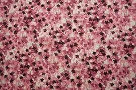 Bawełna - akwarelowe kwiatki