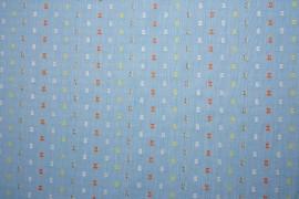 Bawełna - kolorowy haft