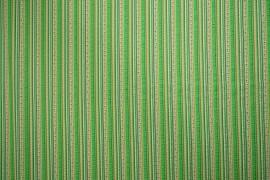 Bawełna - zielone paski
