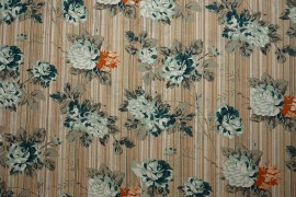 Bawełna - angielskie róże