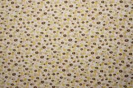 Bawełna - brązowo-żółte plamki