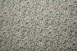 Bawełna - fioletowe liście