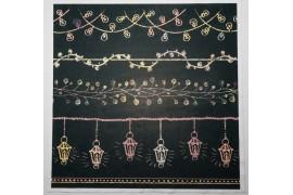 Panel poduszkowy - kolorowe lampki