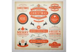 Panel poduszkowy - świąteczne napisy