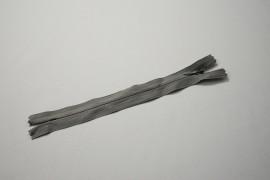 Zamek kryty - ciemnoszary, 18 cm