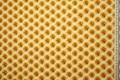Tkanina dekoracyjna - plastry miodu na białym tle