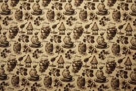 Tkanina dekoracyjna - Honey beżowy