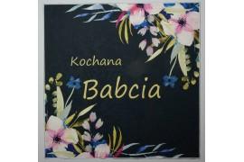 Panel poduszkowy - jasnoróżowe kwiaty