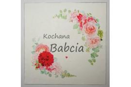 Panel poduszkowy - kolorowe kwiaty