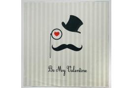 Panel poduszkowy - napis Be My Valentine