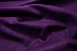 Tkanina lniana - kolor fioletowy