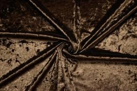 Welur - kolor brązowy