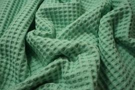 Bawełna wafel - kolor miętowy
