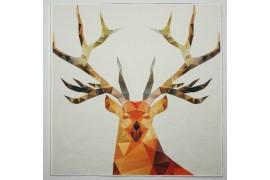 Panel poduszkowy - brązowy jeleń