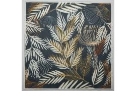 Panel poduszkowy - gałązki na szarym tle