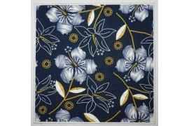 Panel poduszkowy - jeansowe kwiaty