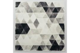 Panel poduszkowy - ołówkowe trójkąty