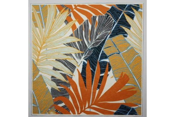 Panel poduszkowy - liście pomarańczowe