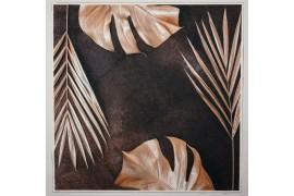 Panel poduszkowy - miedziane liście