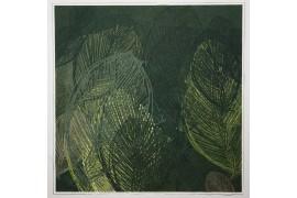 Panel poduszkowy - oliwkowe liście