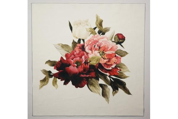 Panel poduszkowy - kwiat piwonii