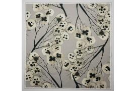 Panel poduszkowy - drzewa na szarym tle