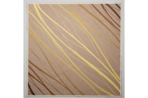 Panel poduszkowy - złote linie