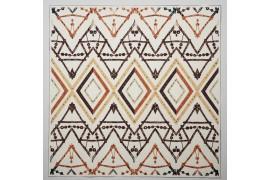 Panel poduszkowy - brązowy wzór boho