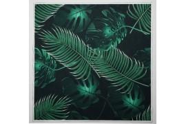 Panel poduszkowy - zielone liście