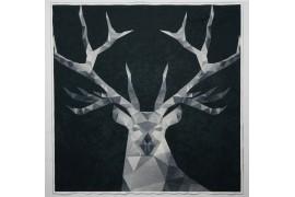 Panel poduszkowy - szary jeleń