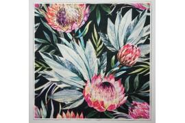 Panel poduszkowy - tropikalne kwiaty