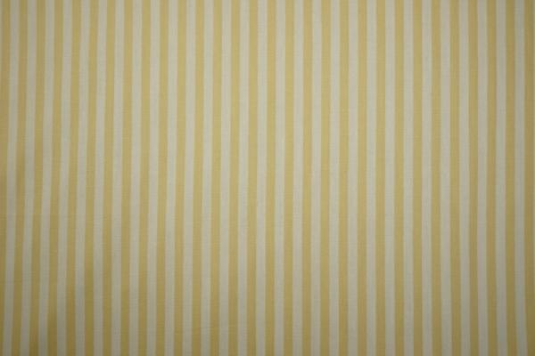 Bawełna - jasnokarmelowo-białe paski 5 mm
