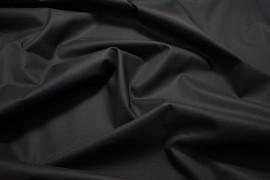 Bawełna popelina z lycrą w kolorze czarnym