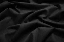 Bawełna z lycrą - czarna