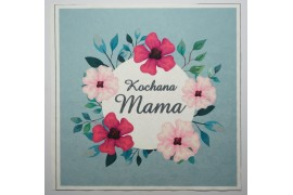 Panel poduszkowy - malowane kwiaty