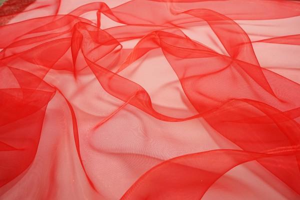 Organtyna w kolorze czerwonym