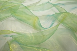 Organtyna dwutonowa - zielono-żółta