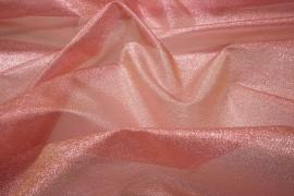Organtyna metaliczna - brudny róż