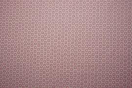 Bawełna drukowana w różowe gwiazdki