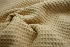 Bawełna wafel - kolor beżowy