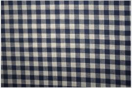 Bawełna vichy 1 cm – navy