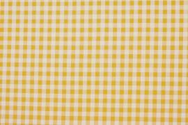 Bawełna vichy 1 cm – yellow