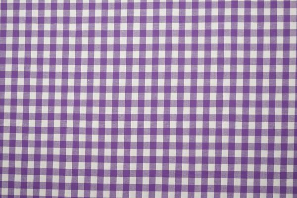 Bawełna vichy 1 cm – lilac