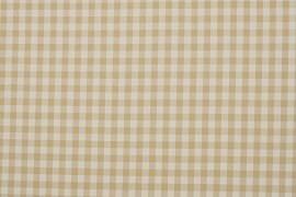 Bawełna vichy 1 cm – sand