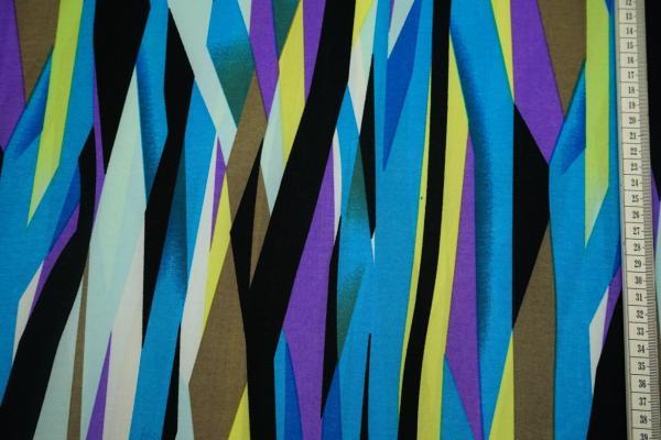 Dzianina - kolorowe fale