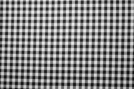 Bawełna vichy 1 cm – black