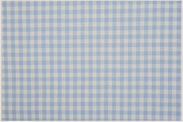 Bawełna vichy 5 mm – blue