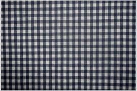Bawełna vichy 5 mm – navy