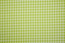 Bawełna vichy 5 mm – lime