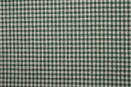 Bawełna vichy 5 mm – bottle green